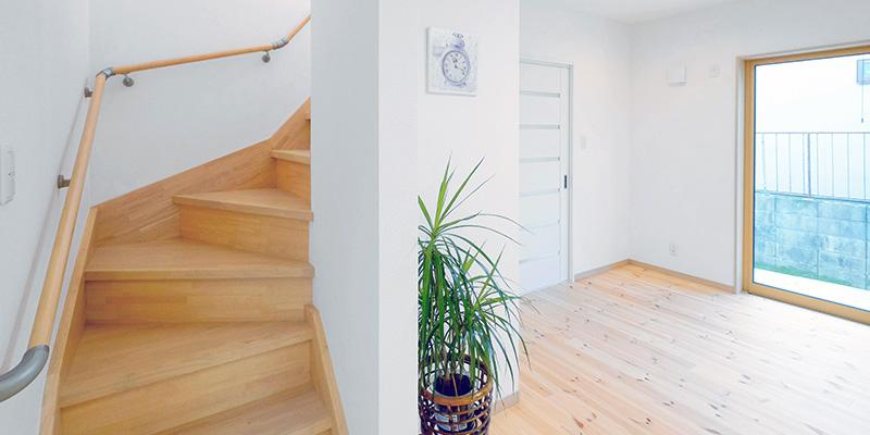 意外に重要!住みやすさを左右する階段計画